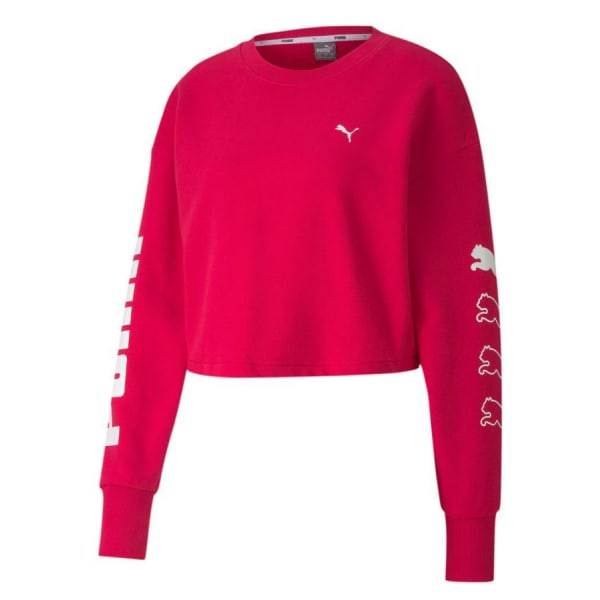 Puma Ladies REBEL Crew Sweater