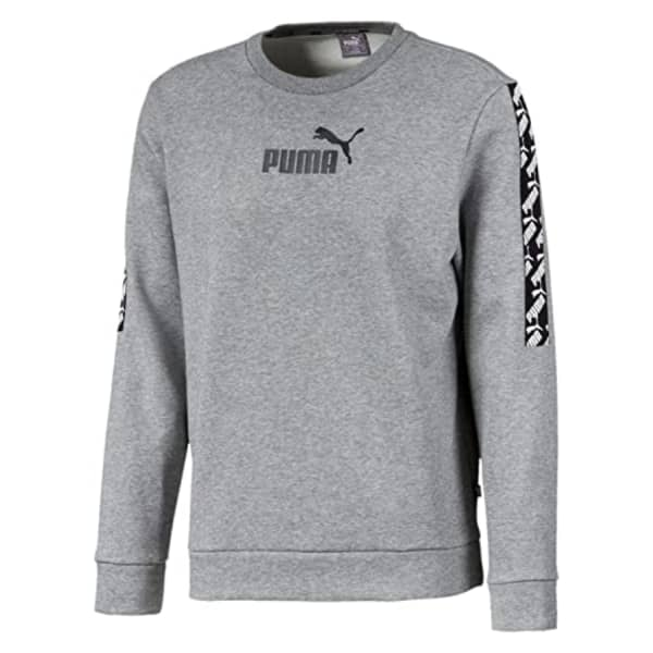 Puma Men's AMPLIFIED CREW Fleece Sweater