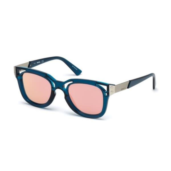 Diesel Ladies Geometric Sunglasses