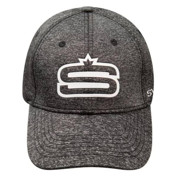 "Swagg MELANGE Raised ""S"" Rubber Print Adjustable Cap"