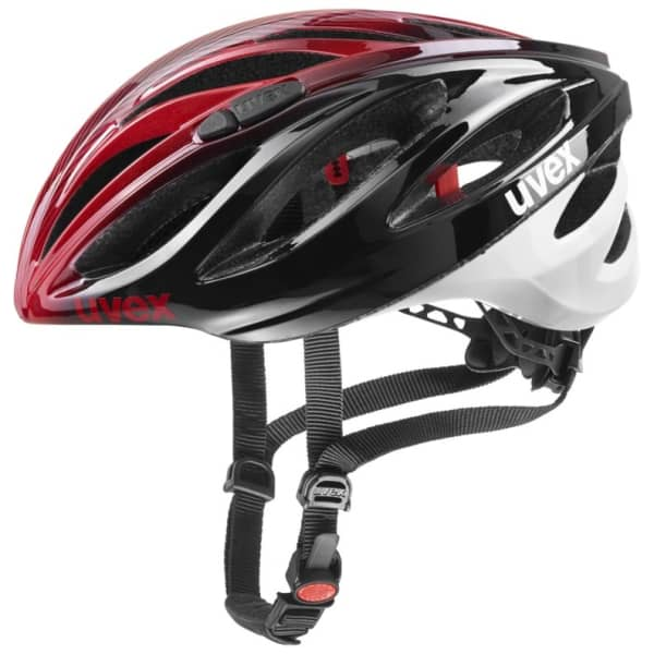 Uvex Boss Red/Black Road Helmet