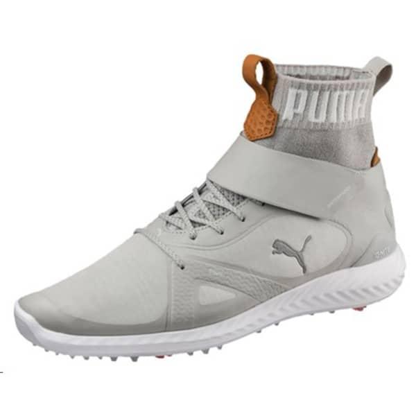 Puma Ignite Poweradapt Hi Top Men's Grey/Yellow Shoes