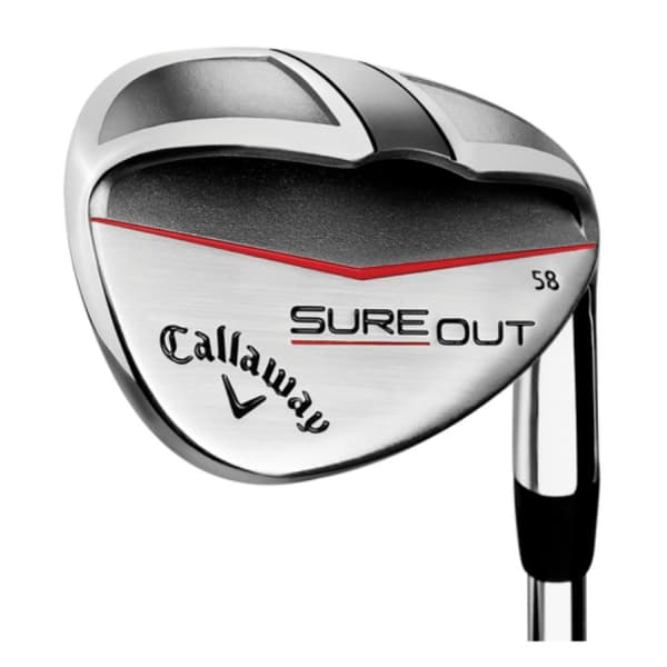 Callaway SURE OUT Men's Left-Handed 58° Steel Wedge