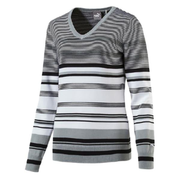 Puma Ladies Depths V-Neck Golf Sweater