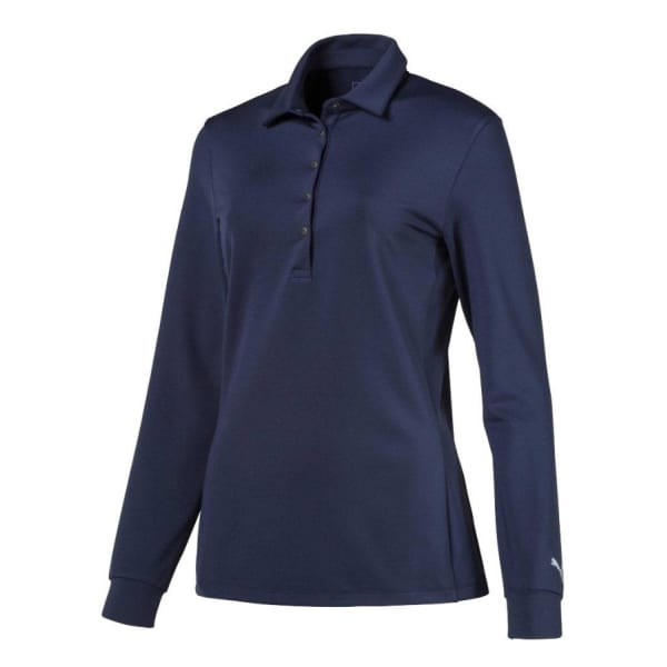 Puma Ladies Long Sleeve Golf Polo