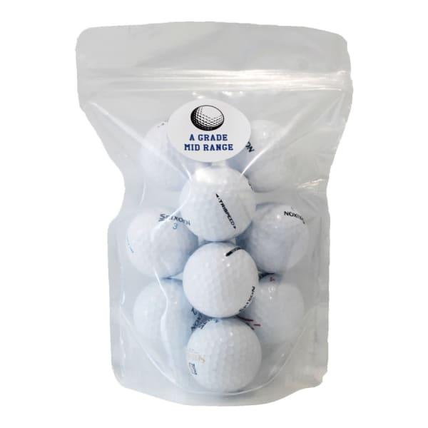 Mixed A-Grade-Mid-Range Golf Balls (12pack)