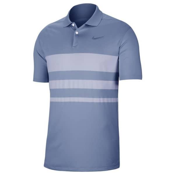 Nike Men's Dri-Fit VAPOR STRIPE Polo Golf Shirt