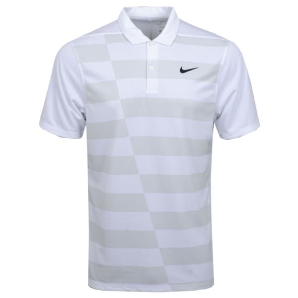 Nike Men's DRY ESSENTIAL GRAPHIC HACKED Polo Golf Shirt