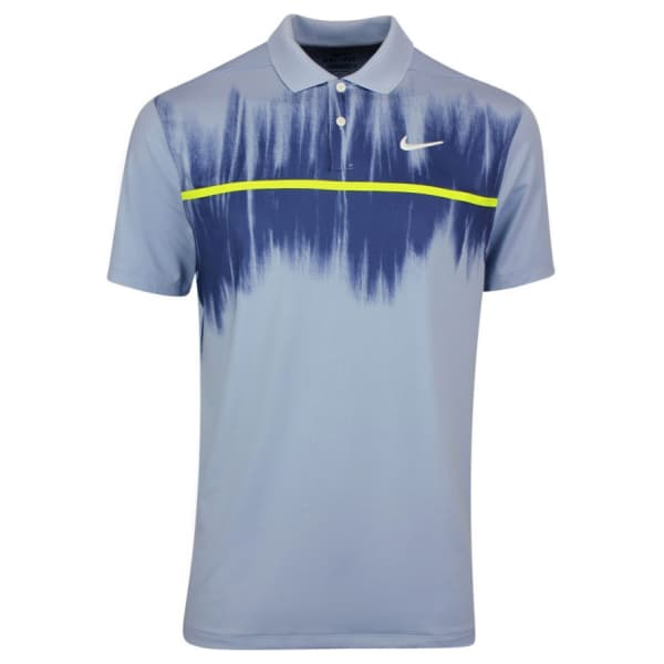 Men's DRY VAPOR FOG PRINT Polo Golf Shirt