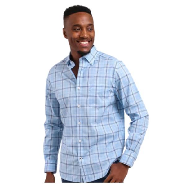 Men's PLAID Long Sleeve Shirt