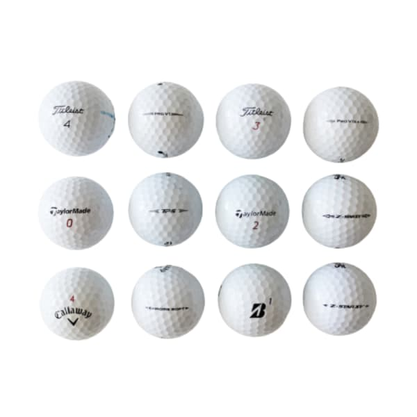 Mixed A-Grade-Premium Golf Balls (12pack)