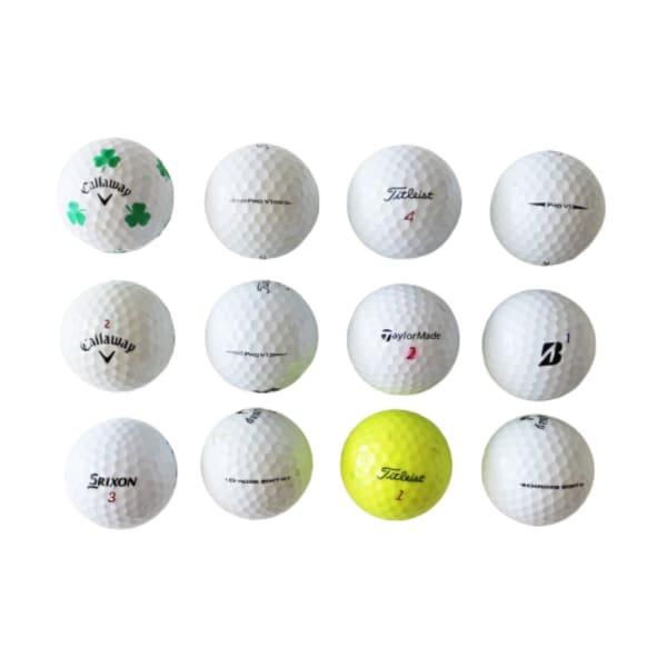 Mixed B-Grade-Premium Golf Balls