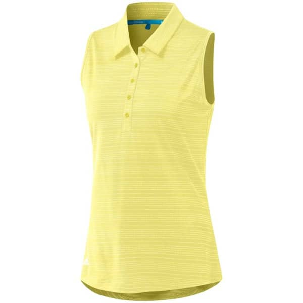 adidas Microdot Ladies Yellow Shirt