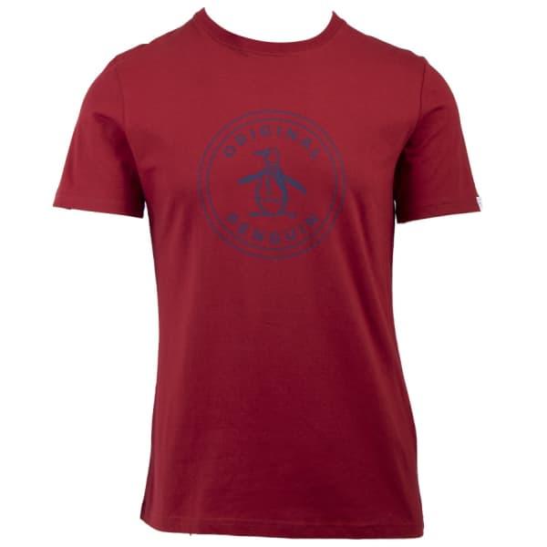 Men's Short Sleeve Logo Stamp T-Shirt