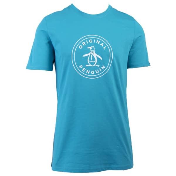 Men's Short Sleeve Logo Word Stamp T-Shirt