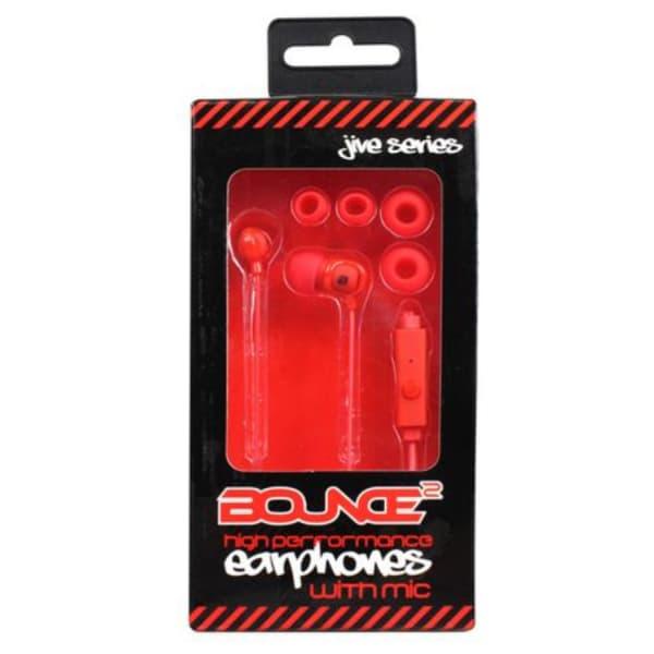 Bounce JIVE SERIES Earphones with Mic
