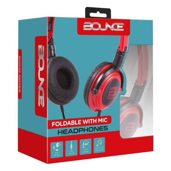 Bounce SWING SERIES Foldable Headphones with Mic