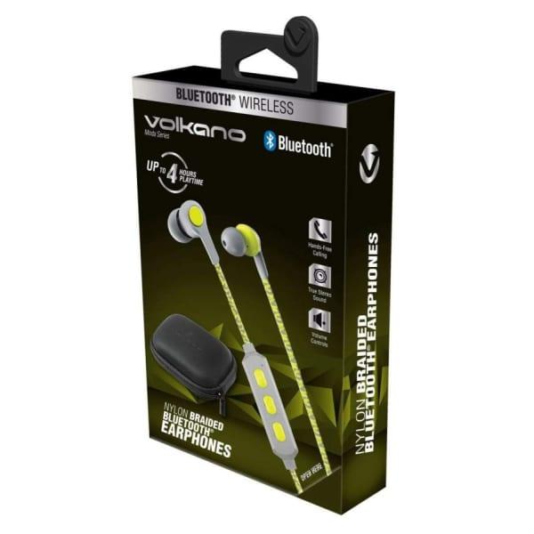Volkano MODA SERIES Nylon Bluetooth Earphones
