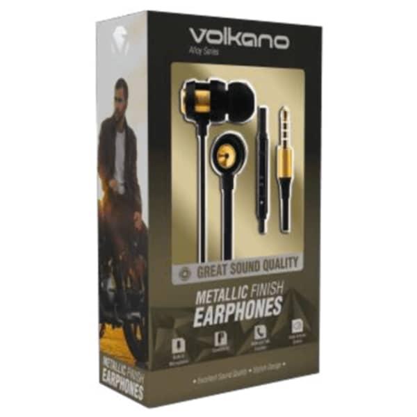 Volkano ALLOY SERIES Metal Earphones