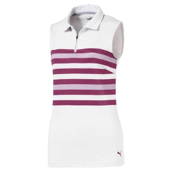 Puma Road Map Ladies Magenta Shirt