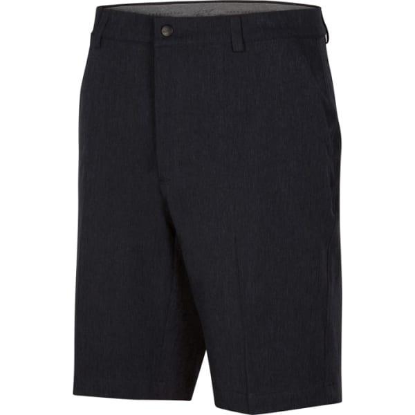 Greg Norman Heathered Classic Fit Mens Black Short Short