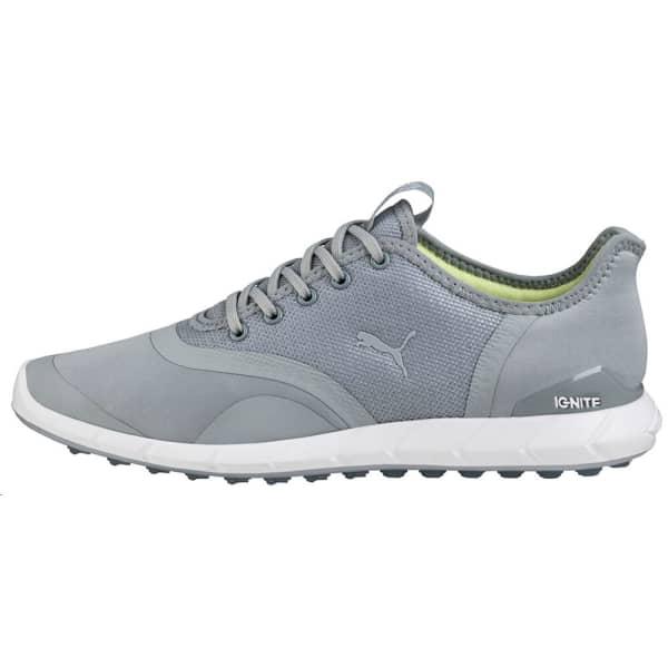 Puma Ignite Statement Low Ladies Quarry/White Shoes