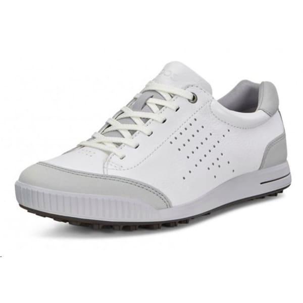 Ecco Golf Street Retro Men's White/Concrete Shoe