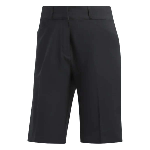adidas Solid Ladies Black Bermuda Short