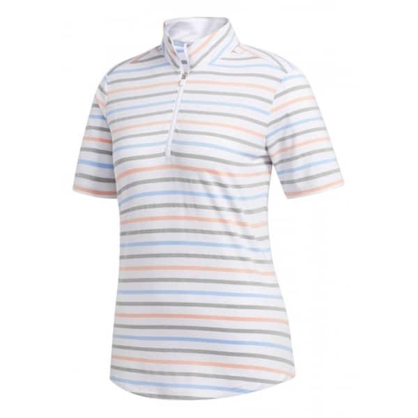 adidas Ultra Stripe Ladies White Shirt