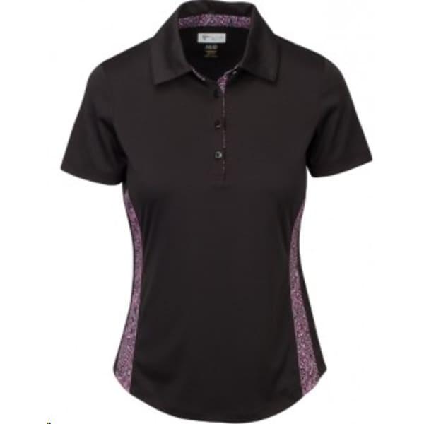 Greg Norman Magaret Polo Ladies Carbon Shirt