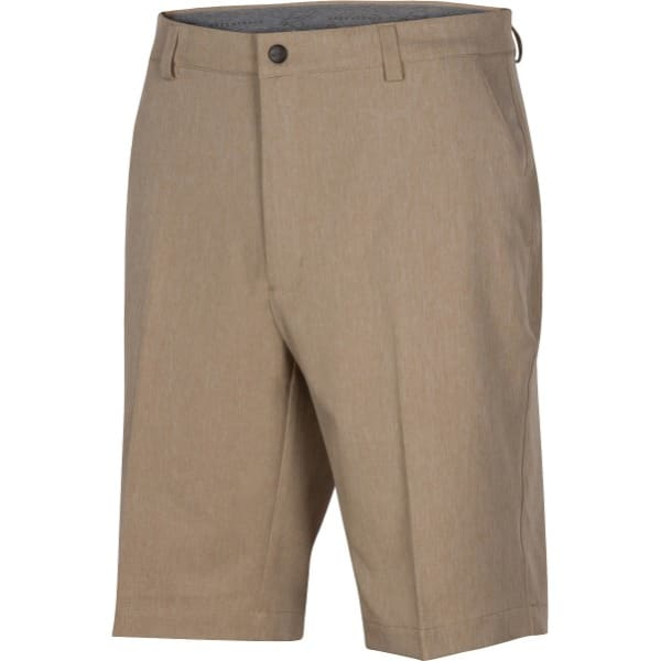 Greg Norman Heathered Classic Fit Men's Bamboo Shorts