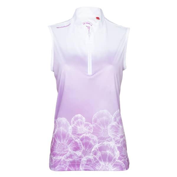 Swagg DryTech Performnace Ladies Floral/White Shirt