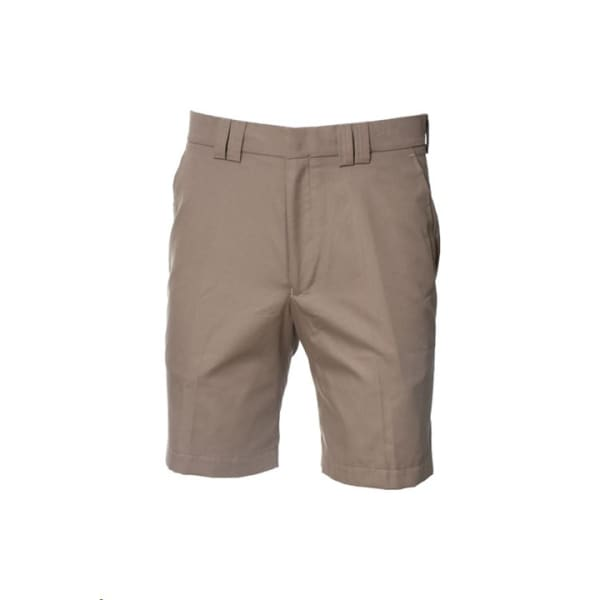 Clubhouse Flat Front Mens Stone Short
