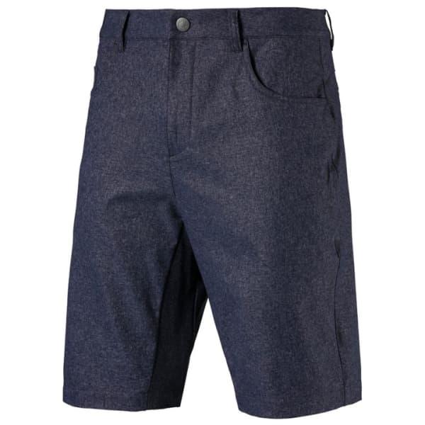 Puma Heathered 5 Pocket Mens Peacoat/Navy Bermuda Short