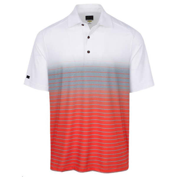 Greg Norman Print White Men's Shirt