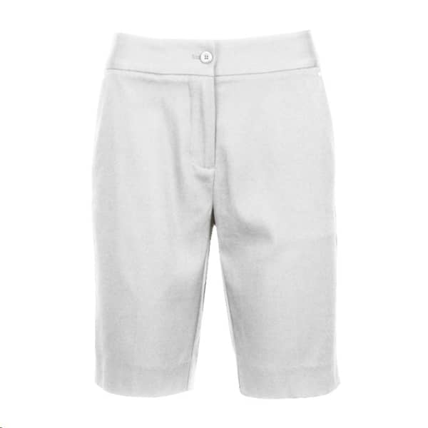 Greg Norman Perfect Fit Ladies White Short