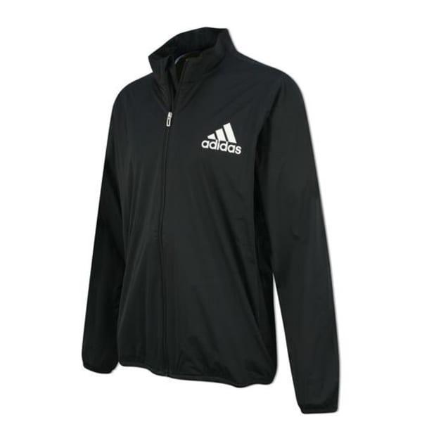 adidas Boys Black Rain Jacket