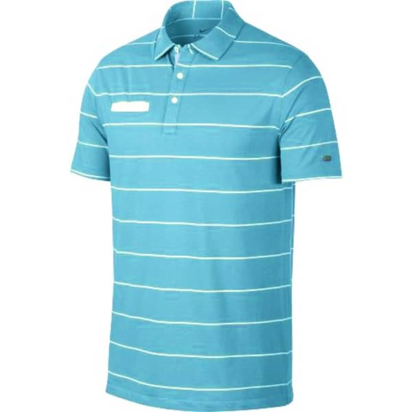 Nike Dry Player Stripe Men's Light Aqua Shirt