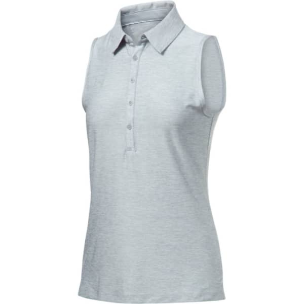 Under Armour Zinger Ladies Grey Sleeveless Shirt
