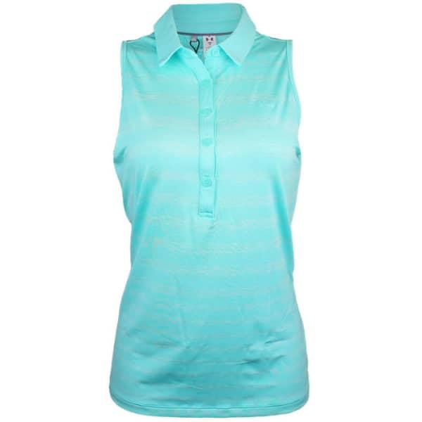Under Armour Zinger Ladies Turquoise Sleeveless Shirt