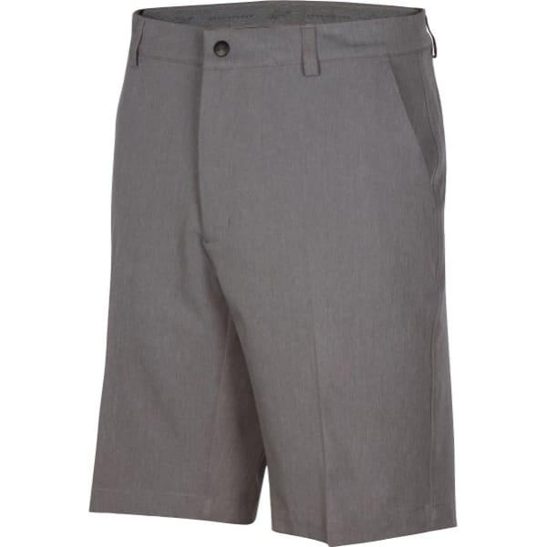Greg Norman Heathered Classic Fit Mens Steel Short Short