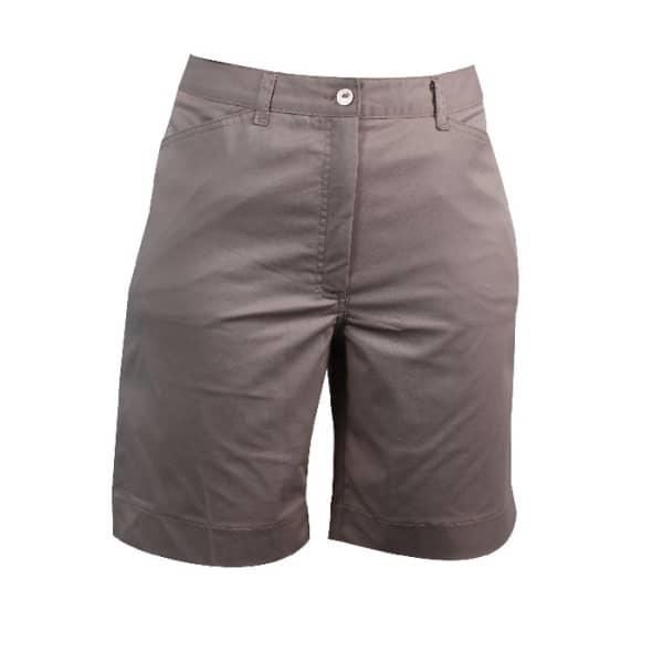 Clubhouse Ladies Basic Shorts Stone