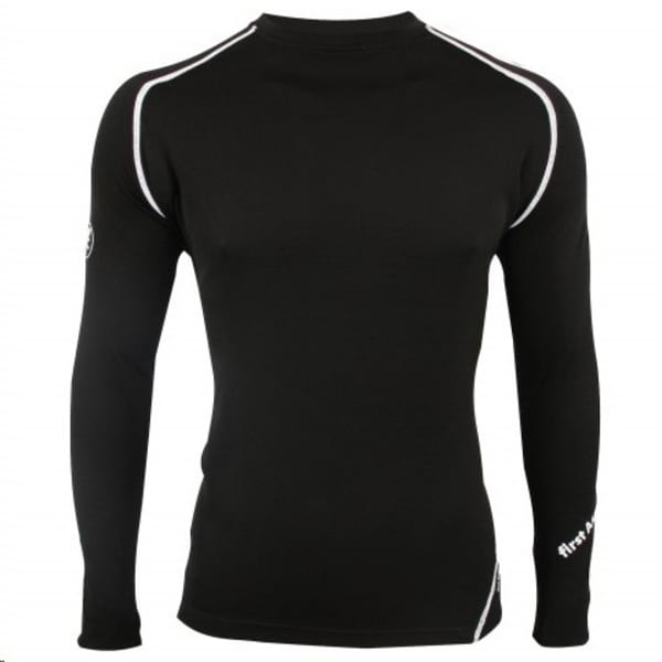 Ascent Polypropylene Men's Black Shirt