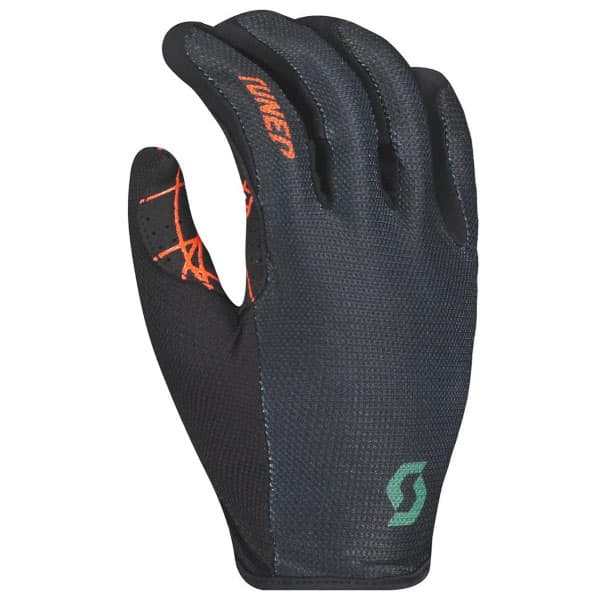 Scott Traction Green/Orange Long Finger Gloves