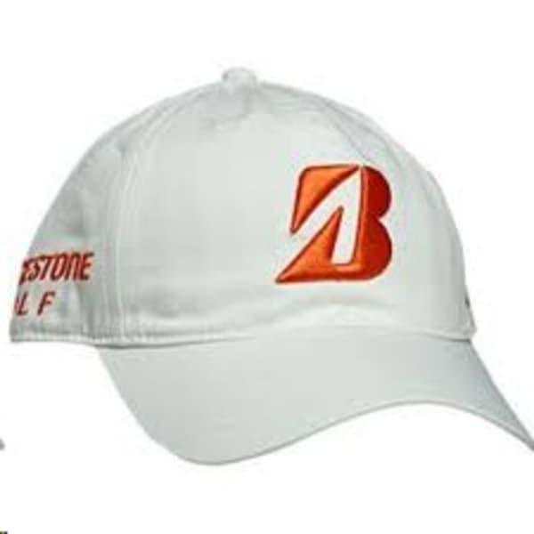 Bridgestone Snedeker Men's White/Tangerine Cap