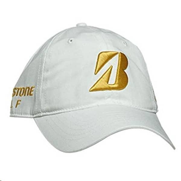 Bridgestone Snedeker Men's White/Gold Cap