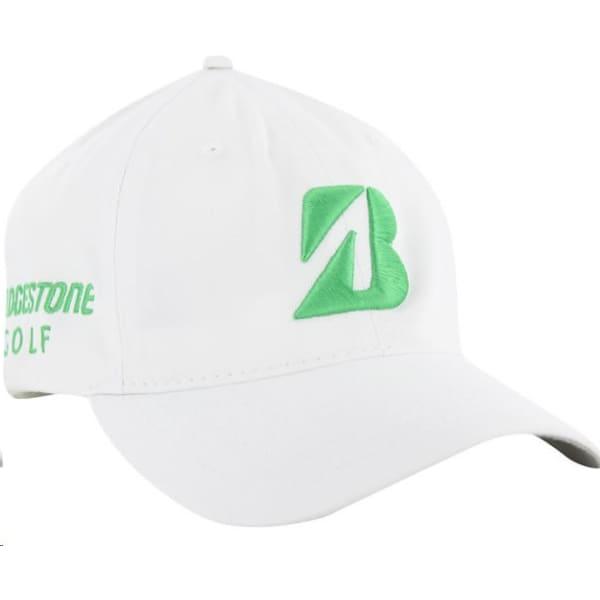 Bridgestone Snedeker Men's White/Green Cap