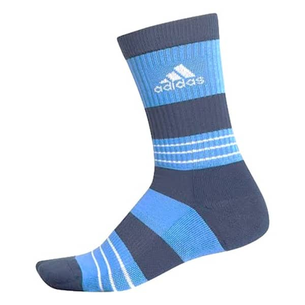 adidas Linear ColourBlocking Crew Men s Navy Socks