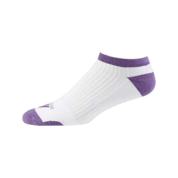 adidas Comfort Low Ladies Purple Socks
