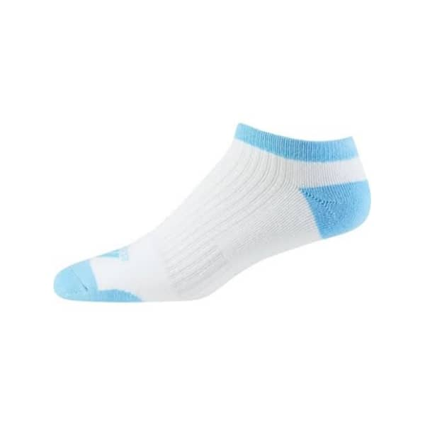 adidas Comfort Low White/Blue Ladies Socks